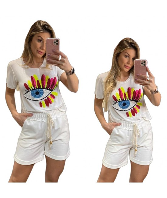CROPPED OLHO GREGO NEON - OFF
